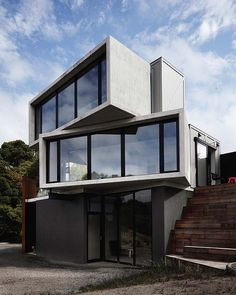 """Innovative living: """"The Pod"""" in Lorne deisgned by Whiting Architecture. Photo: Sharyn Cairns."""