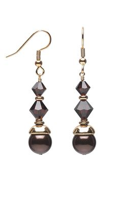 Jewelry Design - Earrings with Swarovski Crystal Beads and Pearls - Fire Mountain Gems and Beads
