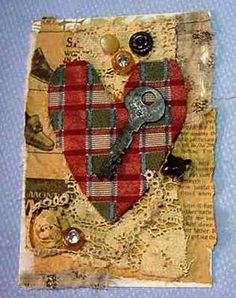 Like Shabby Chic Here is a Handmade Card to by ForgetMeNotPastimes
