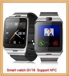 Unterstützung NFC Aplus GV18 A18 Smart bluetooth uhr mit Kamera bluetooth armbanduhr sim-karte Smartwatch für iPhone 6 Android-Handy //Price: $US $32.80 & FREE Shipping //     #smartwatches