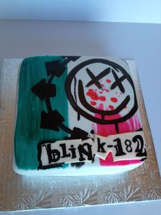 Blink 182 cake by Rainy's Cookie Cafe
