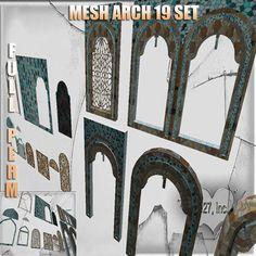 Mesh arch 1 impact 19 set full perm
