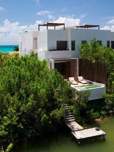 rosewood mayakoba resort, playa del carmen, mexico