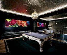 Unique game room design - Unique and Stylish Game Rooms to Inspire