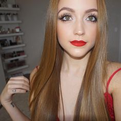 Kathleen Lights- valentine's day look