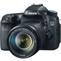 Canon EOS 70D DSLR with 18-135mm STM f/3.5-5.6 IS Lens
