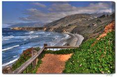 Sand Dollar Beach, Big Sur, California