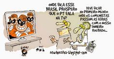 Chargista Cearense Newton Silva: PAÍS DO FAZ-DE-CONTA