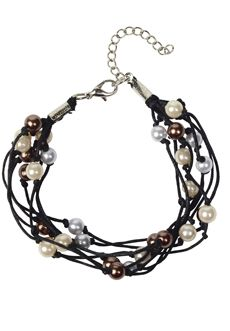 """Beautifully-arranged, these Cambodian beads are complimenting to both casual and dressy styles. Purchase of this product helps to support and encourage acid attacked women living in Cambodia. Approx. 7 ½"""" in length. $18"""