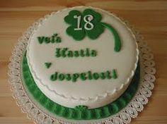 Výsledok vyhľadávania obrázkov pre dopyt narodeninove torty k 18