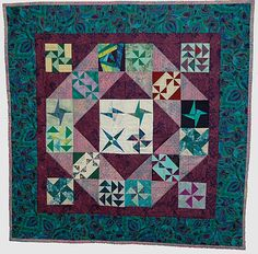 Pictures of Awareness and Comfort Quilts: Susie's Friendship Quilt