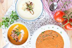 Trio polévek, které jsou vynikající za tepla i za studena. Jdete do nich?