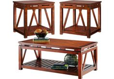 Shop for a Panama Jack Breezy View 3 Pc Table Set at Rooms To Go. Find Table Sets that will look great in your home and complement the rest of your furniture. #iSofa #roomstogo