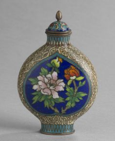 Snuff Bottle and Stopper Artist/maker unknown, Chinese Qing Dynasty (1644-1911) 1750-1850