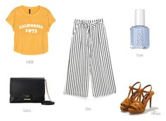 culotte look 1 by ireneconcello on Polyvore featuring GUESS and Uterqüe