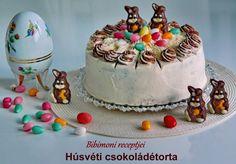 Bibimoni Receptjei: Süssünk együtt lépésről lépésre, Húsvéti csokoládé...