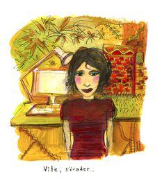 Illustration © Pauline Lugon, acrylique Princess Zelda, Illustrations, Fictional Characters, Art, Art Background, Illustration, Kunst, Performing Arts, Fantasy Characters