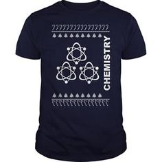 UGLY CHRISTMAS SWEATER GREAT GIFT FOR ANY UGLY CHRISTMAS SWEATER LOVER CHEMISTRY TSHIRT