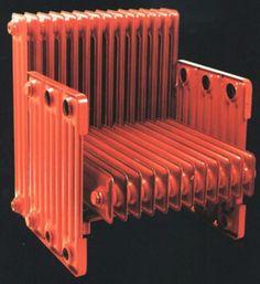 Carelman - chaise chauffante