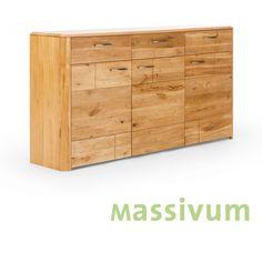 Hervorragend Wohnwand Anbauwand Eiche Massiv Geölt Möbel Holz Wohnzimmer Schränke  MARERRA NEU
