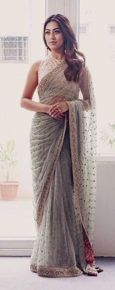 indian fashion Men -- Click VISIT link above for more options #indianfashionModern #indianfashionLehenga #indianfashionBlouse Trendy Sarees, Stylish Sarees, Fancy Sarees, Indian Fashion Dresses, Indian Designer Outfits, Indian Outfits, Indische Sarees, Sarees For Girls, Suits