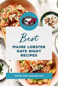 Looking to impress a special someone? Try out these Maine Lobster recipes for your next date night. Best Shrimp Recipes, Lobster Recipes, Fish Recipes, Seafood Recipes, Cooking Recipes, Healthy Recipes, How To Cook Lobster, How To Cook Fish, Date Night Recipes
