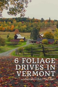 Ideas for prime leaf peeping in fall through the back roads of Stowe, Montpelier, Woodstock and Sharon in Vermont. Drive through the best foliage!