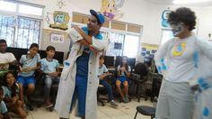 Blog do Inayá: Turma 404 da Professora Juliana Ventapane recebe visita da Odebrecht Ambiental