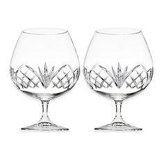 Dublin Crystal Brandy Glasses, 23 oz. $29.99/Set of 2 at bedbathandbeyond.com, 9/3/15