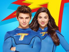 Kira Kosarin/Phoebe Thunderman and Jack Griffo/Max Thunderman . Nick's The Thundermans totally obsessed with that show