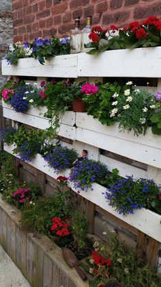 #Garden, #PalletPlanter, #PalletWall, #VerticalGarden