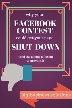 Why your Facebook contest could get your page shut down - and the simple solution to fix it! Facebook Marketing, Internet Marketing, Social Media Marketing, Social Media Tips, Social Networks, Innovative Services, Contest Rules, Like Facebook, Multi Level Marketing