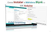 No post de hoje, nós iremos fazer um rápido passo a passo de como instalar a biblioteca do APP Blynk na IDE Arduíno. Arduino, Software, Internet, App, Learning, Libraries, Studying, Apps, Teaching