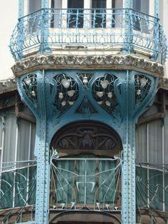 Graineterie Louis Génin - Architeste Henri Gutton - Céramiste Alexandre Bigot -  Nancy - 1900/1901