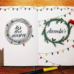 Are you planning your Christmas bullet journal? If yes, then you're in the right place! In this post you'll find 25+ Christmas Bullet Journal Spread Ideas & also some Christmas doodles!