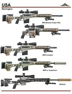 Remington MSR Sniper Series