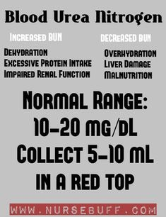 Nursing Mnemonics & Tricks (Diagnostics) The blood urea nitrogen or BUN is a blood test that measure Nursing Lab Values, Nursing Labs, Nursing School Tips, Nursing Notes, Medical School, Cardiac Nursing, Nursing Board, Nursing Mnemonics, Nursing