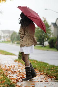 Rainy Fall Style.
