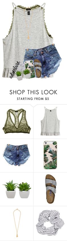 """""""&&; starting a tag list, comment to join"""" by abbypj ❤ liked on Polyvore featuring Cosabella, Sonix, Birkenstock and Topshop"""