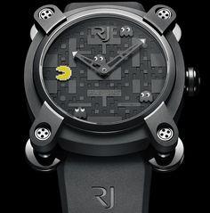 Un homenaje a uno de los símbolos de la cultura 'gamer' toma forma en el nuevo Romain Jerome Pac-Man