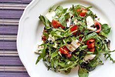 Sałatka z rukoli | Rucola salad http://www.codogara.pl/8034/salatka-z-rukoli/