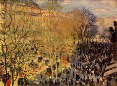 Boulevard des Capucines (1873), Claude Monet (PD)