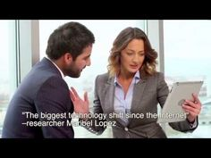 What's Disrupting Business Communication? Your Students Are Holding It in Their Hands - YouTube