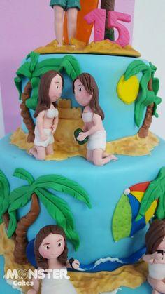 Monster Cakes Ana Del Rio Detalles Hermosos Cartagena de Indias Pedidos Whatsapp 3153256282