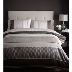Debenhams Chocolate 'Sophia' bed linen- at Debenhams Mobile