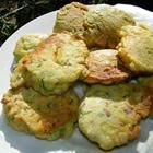 Okra Patties Recipe ~ I made these, but must have made mine too thick. I ran my okra through a food processor. Not too fine & the onion too. They were more like hush puppies & I added garlic salt to them. I used a #24 cookie scoop and deep fried them.  No one knew there was okra in them.  Little Okra Pups! Good with Ketchup or salsa!