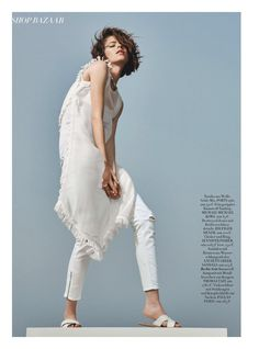 Alexandra Hochgurtel for Harper's Bazaar Germany August 2015 - Kors
