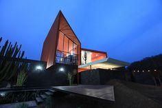 Vivienda unifamiliar ave del risco sixto langarica arquitecto arquitectura diseño