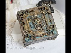 (50) Steampunk Lion Box - - YouTube