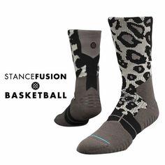 The Carnivora Men's Performance Basketball Socks - Gray By Stance New Era Caps, Snapbacks, Bucket Hats, T-Shirts, Streetwear USA Cranium Fitteds